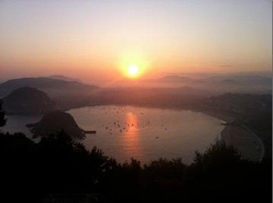 Mercure Monte Igueldo: Caminata