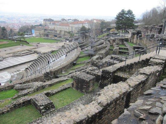 Théâtres Romains de Fourvière : Vistas del recinto