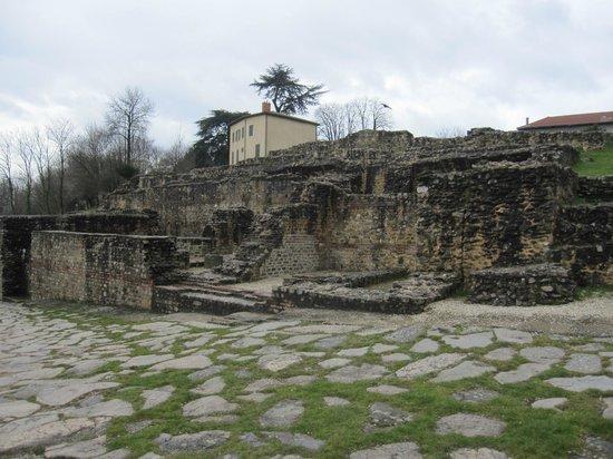 Théâtres Romains de Fourvière : Parte del recinto