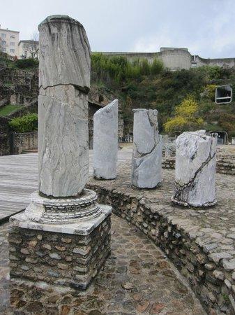 Théâtres Romains de Fourvière : Algunos de los restos
