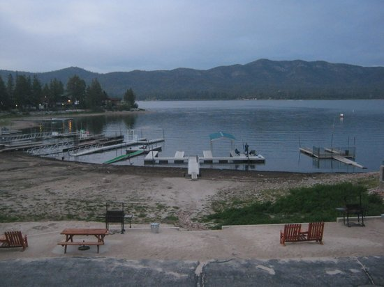 Big Bear Lake Front Lodge: The View