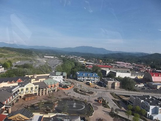 The Great Smoky Mountain Wheel : one of the views from the Wheel