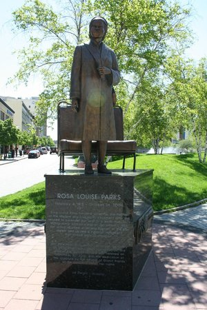 Amway Grand Plaza, Curio Collection by Hilton: Rosa Parks statue near the hotel