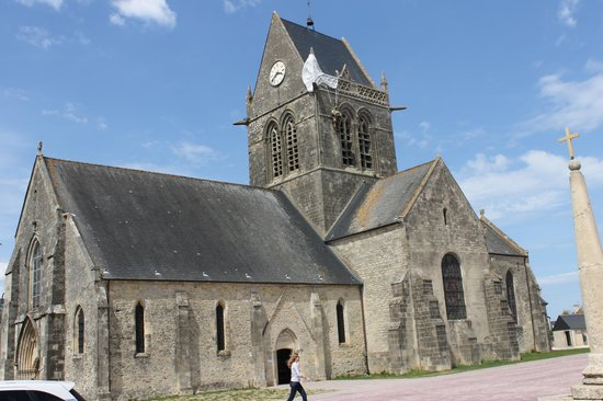 Church at Ste Mere Eglise - the Longest Day - Picture of