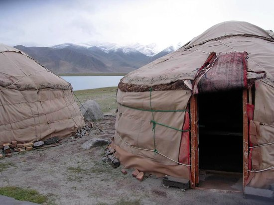 Akto County, Kina: Yurten Camp