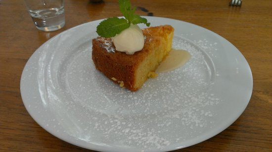 At The Chapel Restaurant: Delicious Lemon Cake