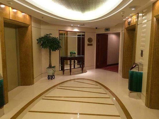 Best Western Shenzhen Felicity Hotel: Lift lobby on my floor