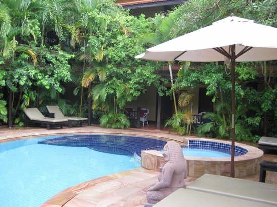 Pavillon Indochine Hotel : Beautiful, quiet paradise.