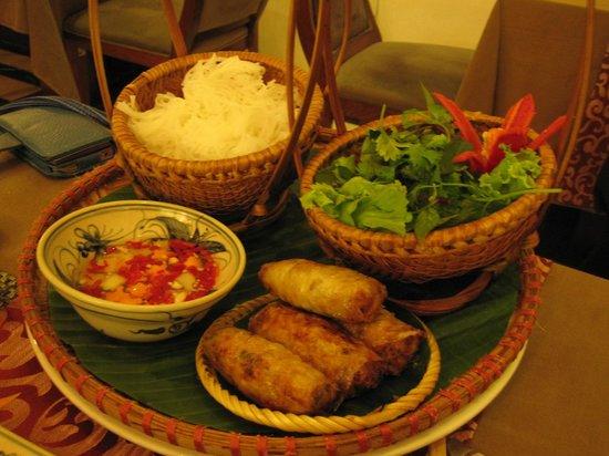 Essence Restaurant : Hanoi Crispy Spring Rolls