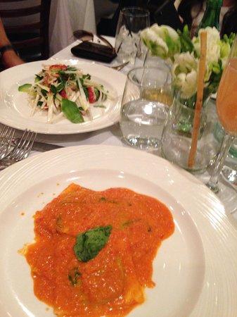 "Nello: This is my order"" ravioli"""