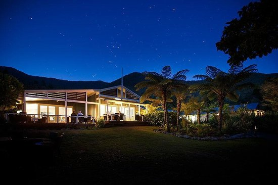 Raetihi Lodge: Look at the stars! Stunning