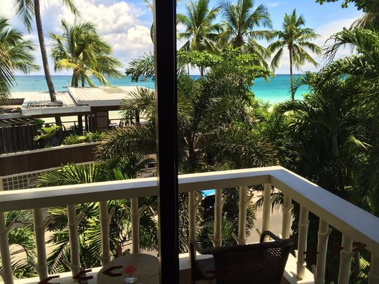 Jony's Beach Resort : View from balcony