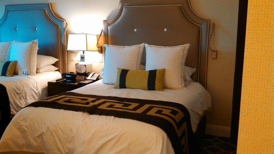 Caesars Palace : Comfortable bed