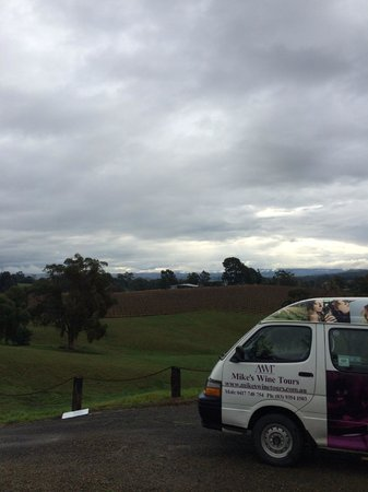 Mike's Wine Tours : Spectacular view
