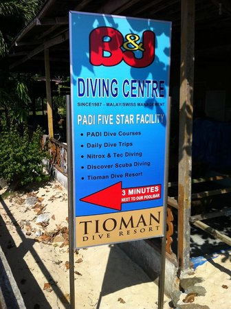 B&J Diving Centre: Welcome to Tioman