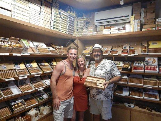 Havana Bob's Cuban Cigars: us and bob