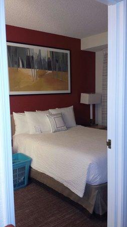 Residence Inn Salt Lake City Airport : Bedroom