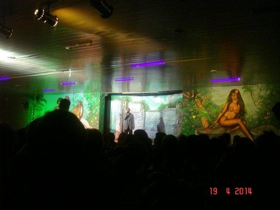 Oba Oba Show Brasil Samba Show: Escenario