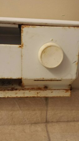 Belhurst Castle: Turret room heater