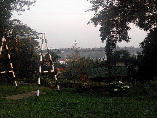 Pinewood Hotel: The swing