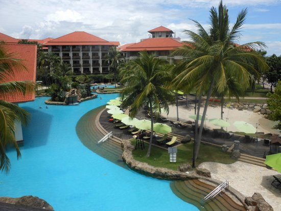Sutera Harbour Resort (The Pacific Sutera & The Magellan Sutera): Superb pool facilities