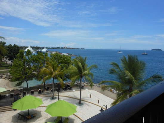 Sutera Harbour Resort (The Pacific Sutera & The Magellan Sutera): View from one of our balconies