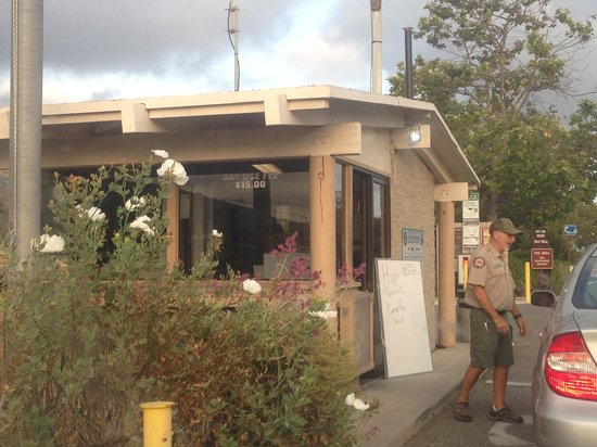 San Onofre State Beach : Ranger station entrance