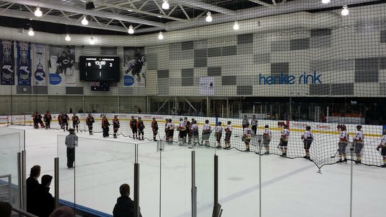 O'Brien Group Arena: Melbourne Mustangs after their win