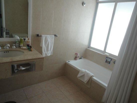 Hotel Geneve Ciudad de Mexico : banheiro com banheira
