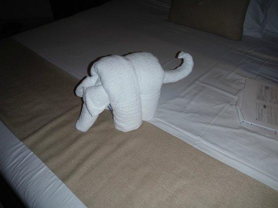Kore Tulum Retreat and Spa Resort: Towel art