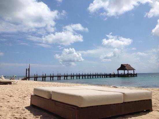 Secrets Aura Cozumel: view from the beach