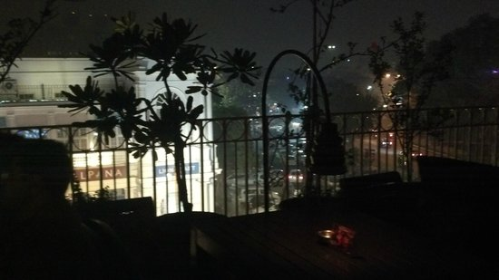 QBA Bar and Lounge : View from the Terrace