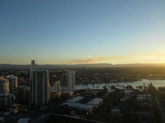 QT Gold Coast: Beautiful mountain view