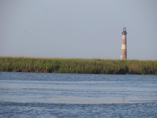Island Hopper Boat Charters: A view of the lighthouse!