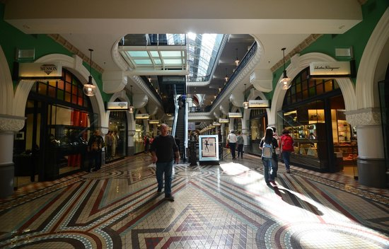 Queen Victoria Building (QVB): Entrance from Park Street
