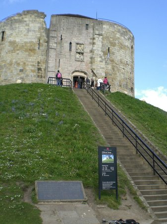 Clifford's Tower: Entrance to the Clifford Tower