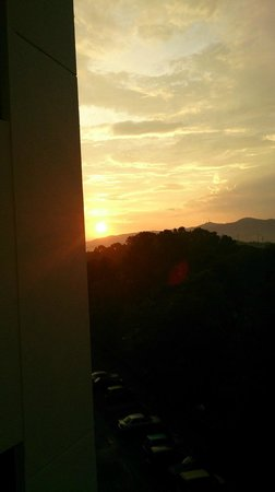 Pulai Springs Resort: Sunset view from room
