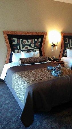 Kalahari Resorts & Conventions: Our room
