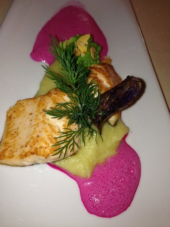 Hotel Obere Linde : salmon - excellent