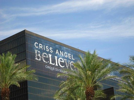 Criss Angel Believe: Anuncio do show