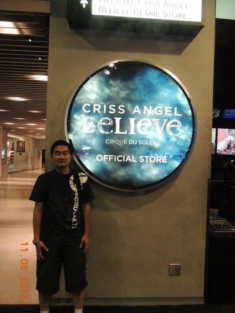 Criss Angel Believe: Entrada para a bilheteria