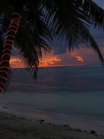 Tranquility Bay Resort : sunrise
