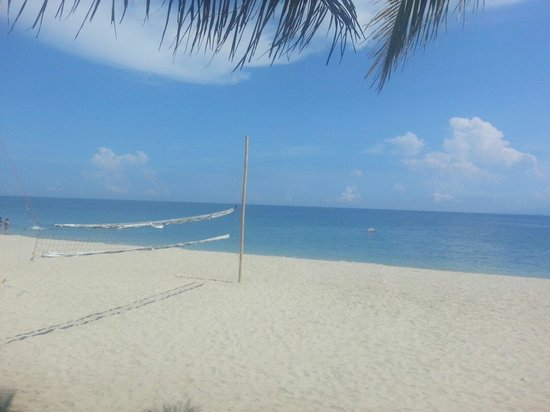 Villa Bienvenida Beach Resort: Beach fronting bienvenida beach resort