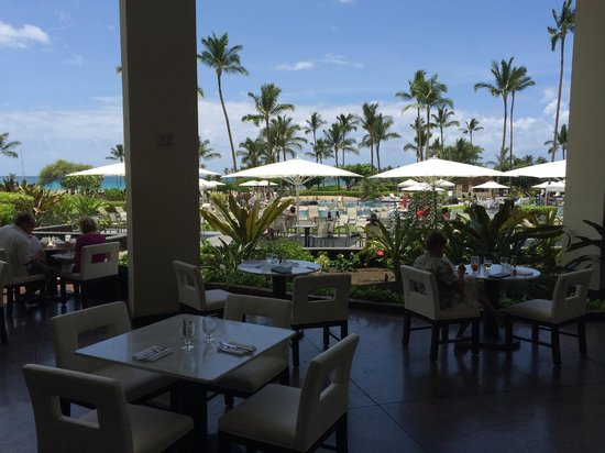 Waikoloa Beach Marriott Resort Spa View From The Restaurant