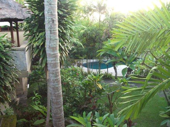 Karma Royal Jimbaran: Balcony to pool