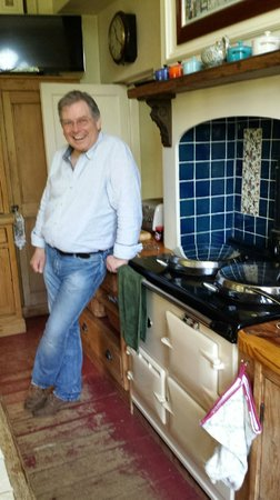 The Old School House: Bill at the Aga