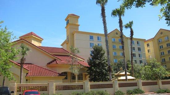 La Quinta Inn Orlando Airport West: entrada