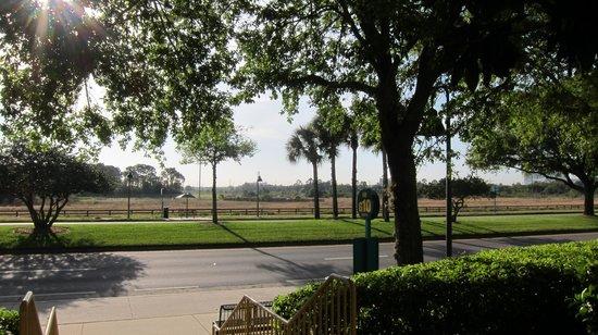 La Quinta Inn Orlando Airport West: salida hotel