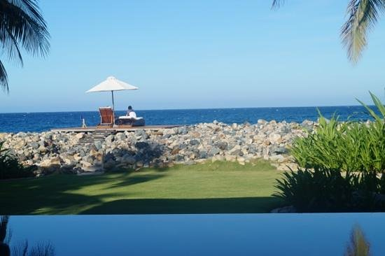 Mia Resort Nha Trang: view from the villa