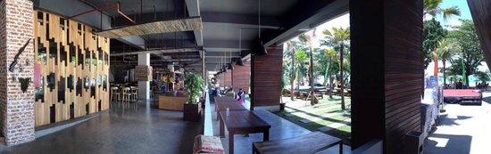 Grand Inna Kuta: Headquater View